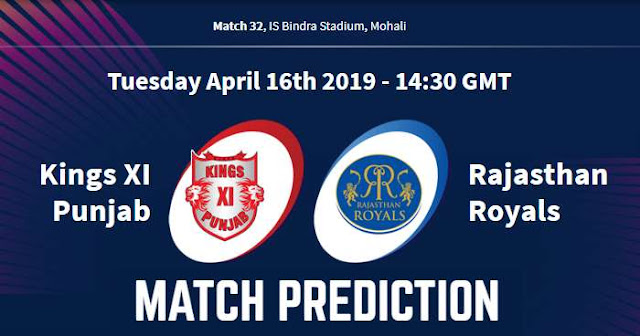 VIVO IPL 2019 Match 32 KXIP vs RR Match Prediction, Probable Playing XI: Who Will Win?