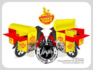 produksi gerobak motor baso
