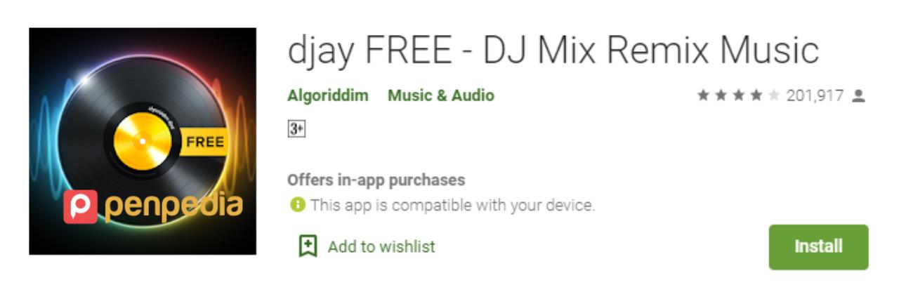 aplikasi edit dj untuk android