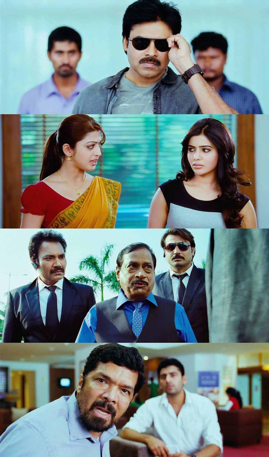 Atharintiki Daaredi (Sabash Gowtham) 2013 Dual Audio Hindi 720p BluRay 1.4GB ESub Desirehub