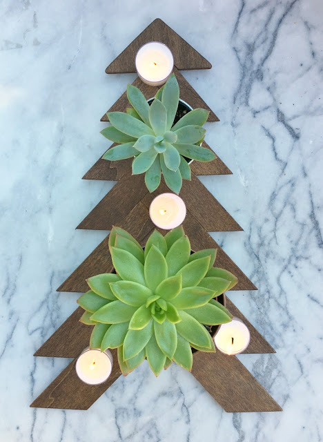 DIY, Succulents, Christmas, crafts, decor, seasonal, holiday crafts, holidays, holiday centerpieces, holiday table, Succulent Christmas Tree, table decor