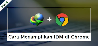 Cara Menampilkan IDM di Chrome