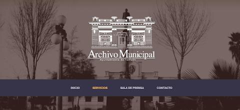 NOTICIAS Archivo Municipal lanza página web | Redacción Bitácora de vuelos