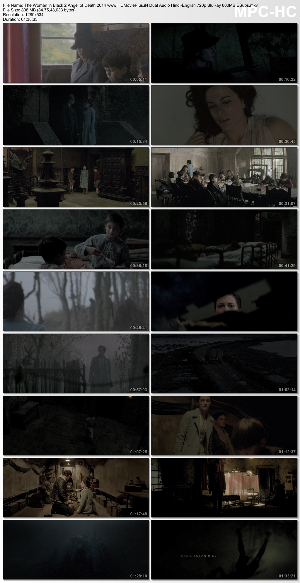The Woman in Black 2: Angel of Death 2014 Dual Audio
