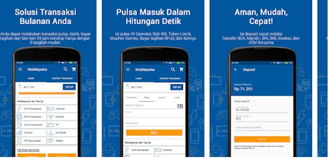 Aplikasi Mobilepulsa Server Pulsa Terbaik