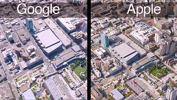 10 Software aplikasi pesaing Google Earth dan Google Maps