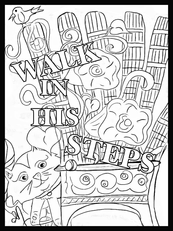 Children's Gems In My Treasure Box: Walk In His Steps