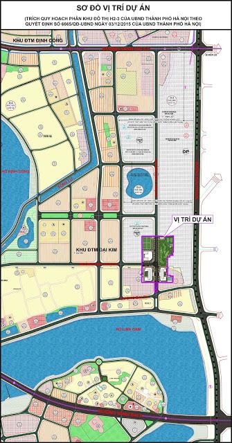 Vị trí quy hoạch dự án ECO LAKE VIEW