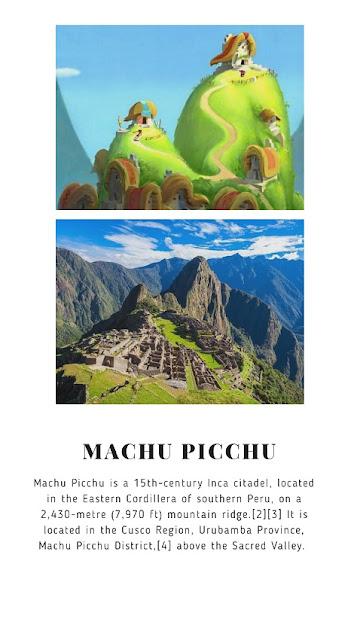 The Emperor's New Groove (2000) Where: Machu Picchu, Peru
