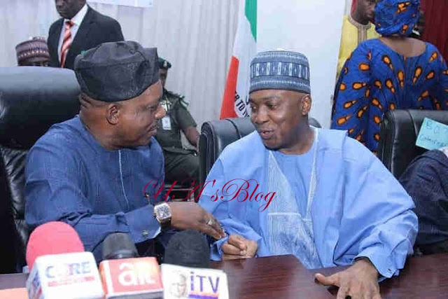 How Saraki Saved Nigeria From Collapsing — PDP's Chairman, Secondus
