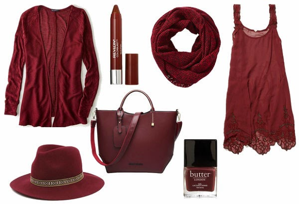 Marsala..The colour of 2015 in interior design and fashion industries.