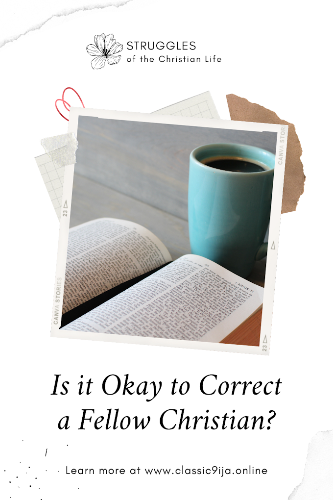 Is it Okay to Correct a Fellow Christian?