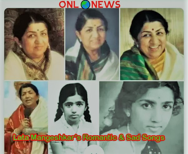 Lata Mangeshkar's Romantic & Sad Songs
