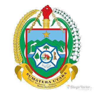 Provinsi Sumatra Utara Logo vector (.cdr)