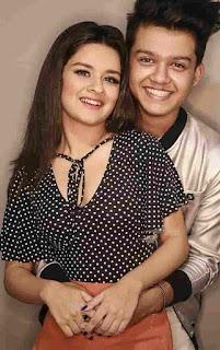 Riyaz Aly With Avneet Kaur