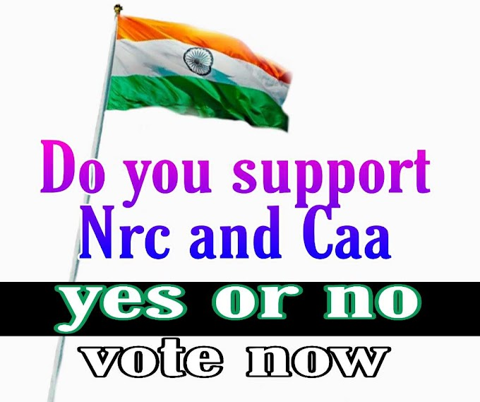 Do you support NRC and CAA-Voting
