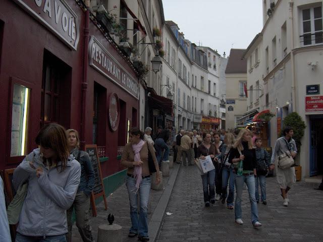 Calles en Montmartre