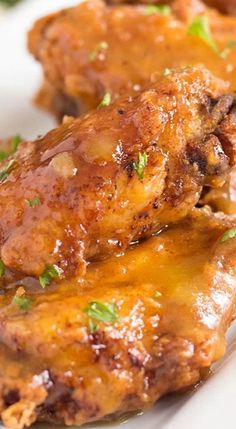 Spicy Pineapple and Mango Chicken Wings Recipe