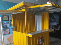 Booth Container - Jasa pembuatan Booth Container Bandung - Gerobak Container