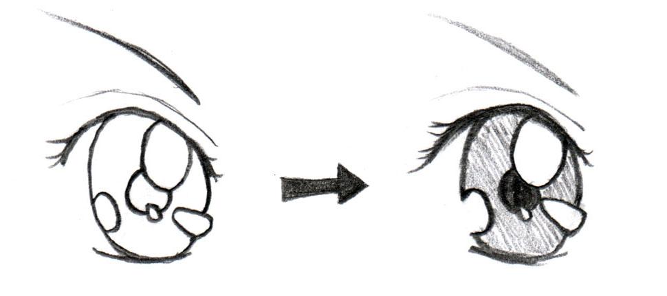 JohnnyBro's How To Draw Manga: Drawing Manga Eyes (Part II