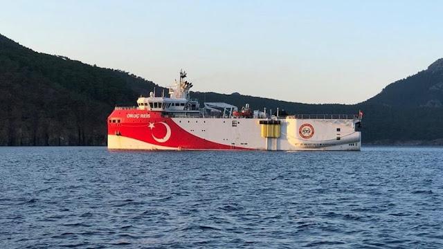 Τουρκία: Νέα Navtex για σεισμικές έρευνες του Oruc Reis