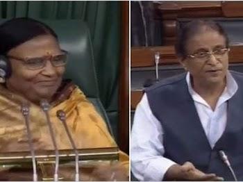 Azam Khan's sexist remark on BJP's Rama Devi sparks uproar in Lok Sabha