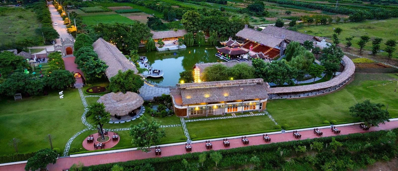 Khu sinh thái Nắng Sông Hồng.