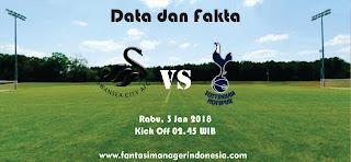 Data dan Fakta Fantasy Premier League Swansea City vs Tottenham Hotspur Fantasi Manager Indonesia