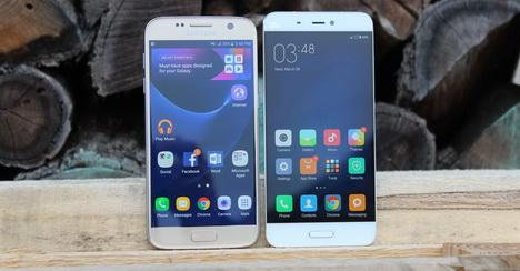 Perbandingan Samsung Galaxy S7 vs. Xiaomi Mi5