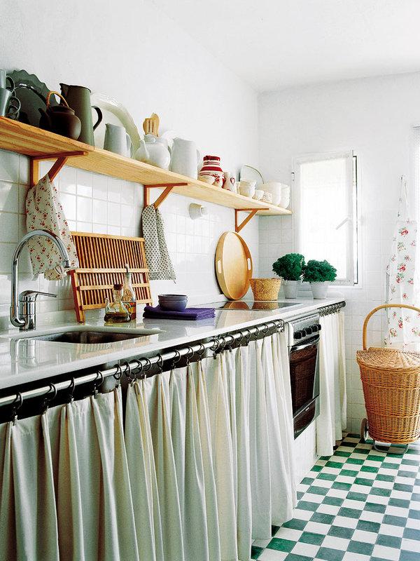 Cortinas Decorativas Para La Cocina Mi Casa Es Feng - Cortinas-para-cocinas-rusticas