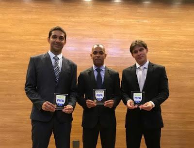 Trio FIFA apita a final do Campeonato Goiano 2020