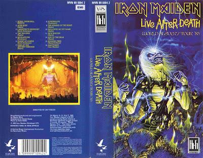 Iron Maiden World Slavery Tour Dvd