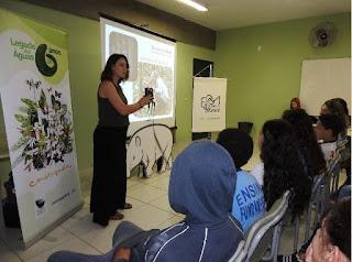 Estudantes debatem importância das antas em evento de comemoração ao Dia Internacional da Anta em Tapiraí-SP