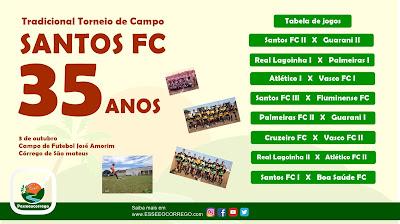 Santos FC... Vai ter torneio sim