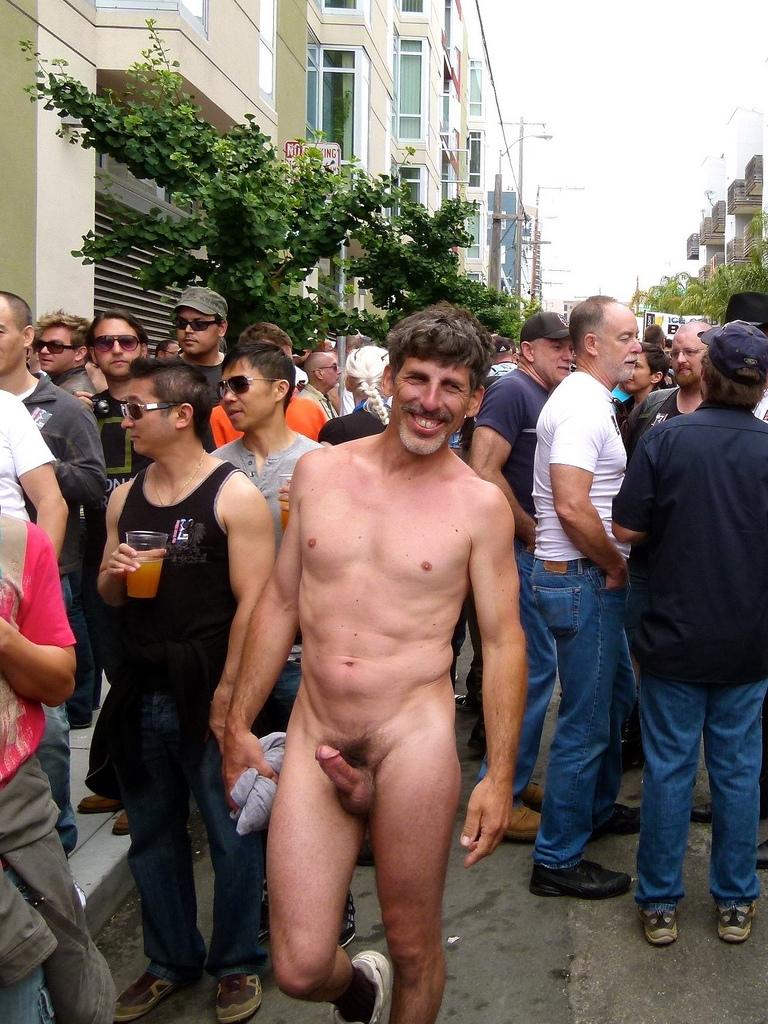 Naked Guy Gets Stark Lesson In Proper