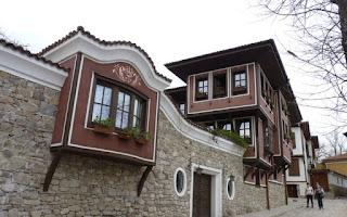 Plovdiv, Calle Chomakoy.