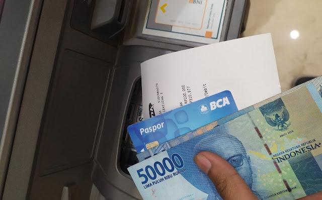 Biaya Penarikan BANK BCA dari ATM BNI