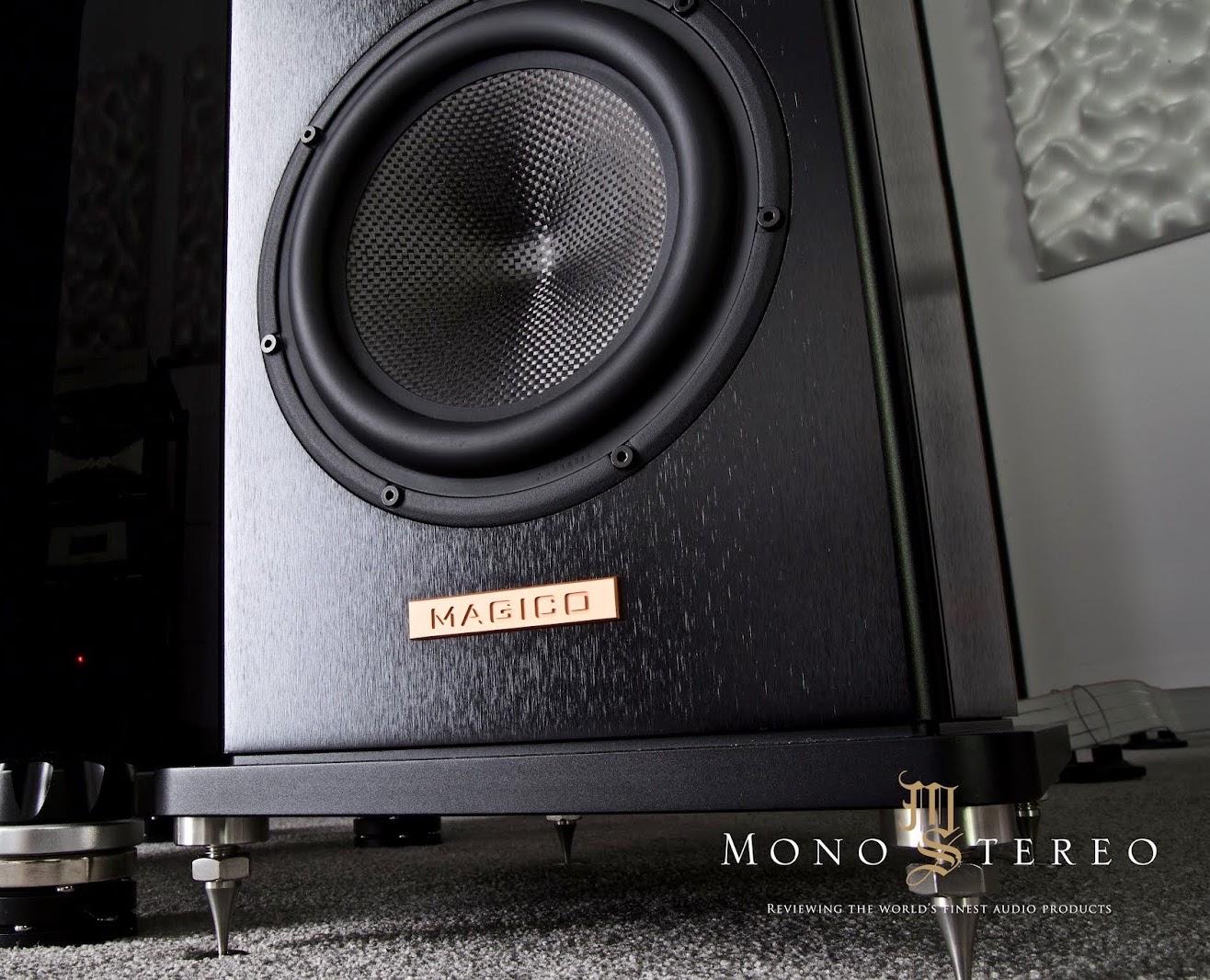 MAGICO A3 floorstand speakers w grills 22Hz-50kHz 88dB 4ohm