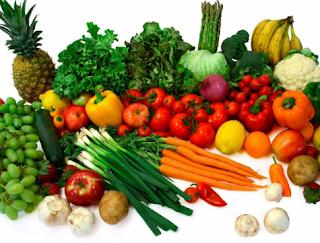 diet buah dan sayur