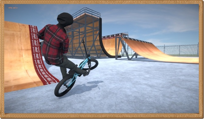 BMX Streets PIPE PC Gameplay