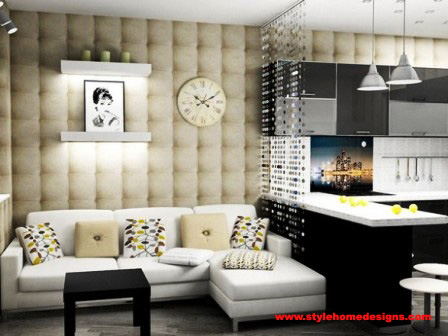 Interior Design For One Room Apartment