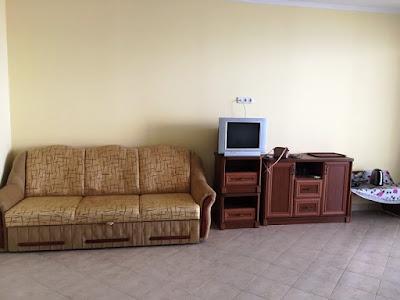 1-комнатные апартаменты (вариант 10) отельного комплекса в Семидворье