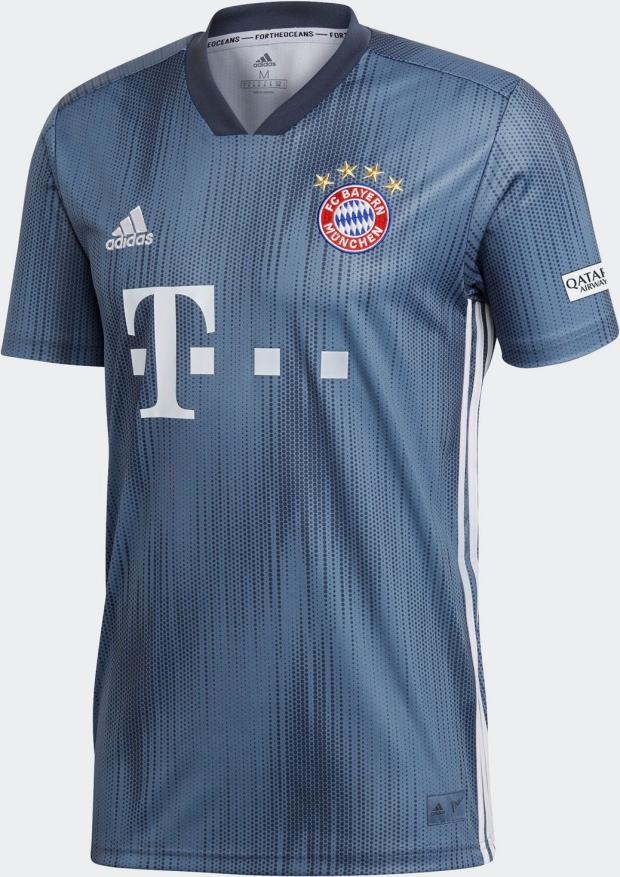 Adidas lança a nova terceira camisa do Bayern de Munique - Show de ... 33cb10e3f9502