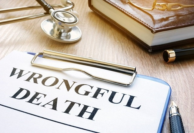 how does a wrongful death lawsuit work medical malpractice suit