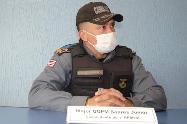 Com abordagens e ações de presença, RPMont reforçar policiamento na zona rural de São Luís