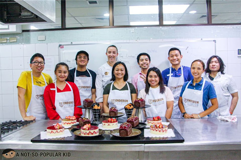 Pastry Classmates Gluten and Lactose Free Desserts, Enderun