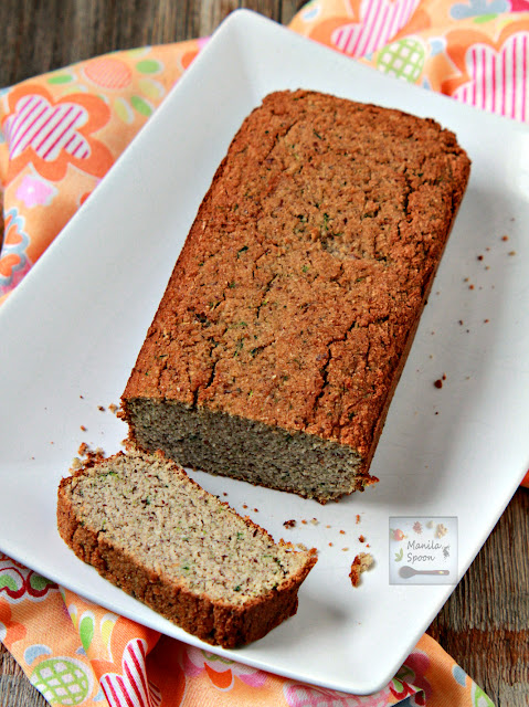Our favorite low-carb, sugar-free bread that tastes delicious! This gluten-free zucchini bread is moist and has notes of coconut and almonds!
