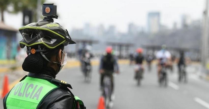 ATENCIÓN CICLISTA: Policías podrán intervenir por infracciones de tránsito desde el 3 de setiembre