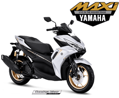 Spek All New Aerox Connected dan ABS, 2021 Serba Baru !!!