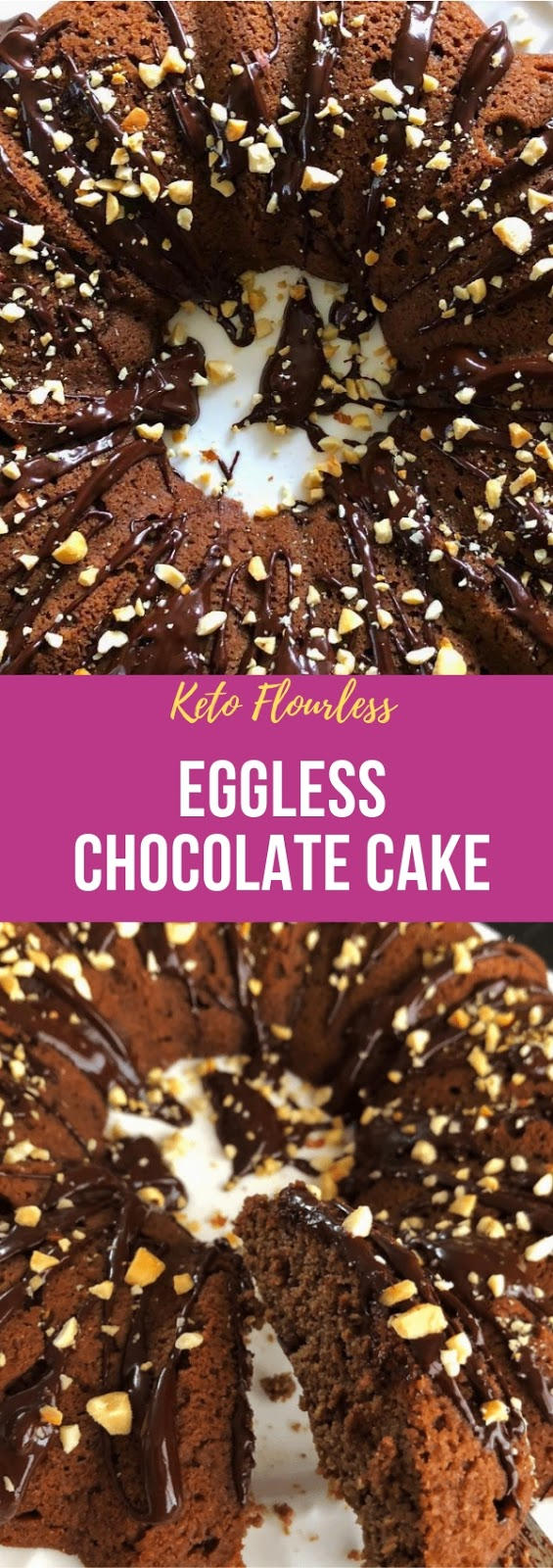 Keto Flourless Eggless Chocolate Cake #dessert #keto #flourless #eggless #chocolate #cake #glutenfree